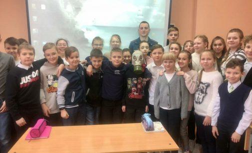 Всемирный день гражданской обороны для школьников школы № 3 города Тосно