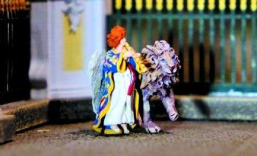 Путешествуем по старинному Петербургу вместе с Ангелом и Львом, Хранителями города!