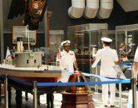 В Санкт-Петербурге Центральный военно-морской музей посетили 20 иностранных делегаций