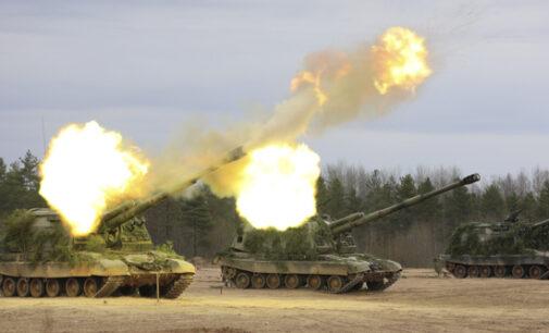 В Ленинградской области проходят полевые занятия с артиллеристами общевойсковой армии Западного военного округа