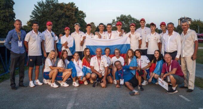 Российская сборная – победитель юношеского чемпионата мира по пожарно-спасательному спорту  Материал взят с портала МЧС Медиа