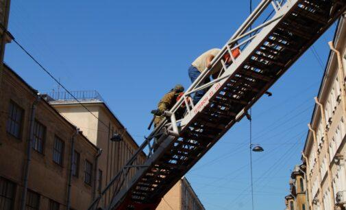 В Большом театре кукол Санкт-Петербурга прошли пожарно-тактические учения