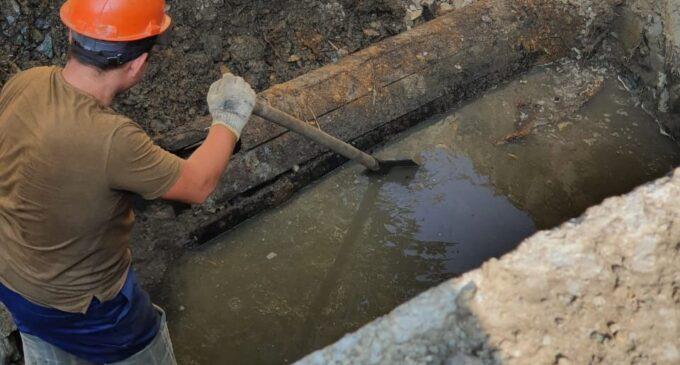 В центре Екатеринбурга нашли трубопровод с вековой историей